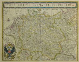 Germany – Duitsland – Nova Totius Germaniae Descriptio.: W. & J. Blaeu – 1631-1660