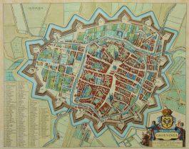 Groningen; J. Blaeu – Groeninga – 1649