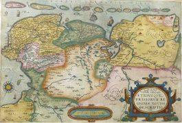 Friesland, Groningen en Ostfriesland – Oost end West Vrieslandts beschrijvinghe (..).; A. Ortelius – 1584