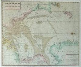 North Sea / Noordzee – Nieuwe Paskaart van de Noort Zee (..).; G. Hulst van Keulen – 1779