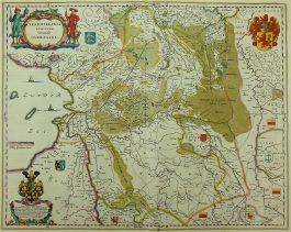 Overijssel – Transiselania dominium vernaculè Over-yssel.; W. & J. Blaeu – 1635-1658
