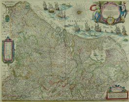 XVII Provinciën – Novus XVII Inferioris Germaniae (..).; W. & J. Blaeu – 1642