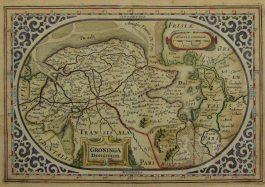 Groningen – Groninga Dominium; J. Janssonius & A. Goos – 1628