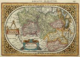 Brabant – Ducatus Brabantiae; J. Janssonius & A. Goos – 1630 ca.