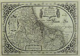 XVII Provinciën – Belgum Sive Inferior Germania; A. Goos / J. Janssonius – 1630 ca.