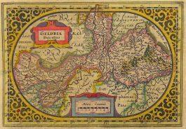 Gelderland – Geldria Ducatus; J. Janssonius & A. Goos – 1630 ca.