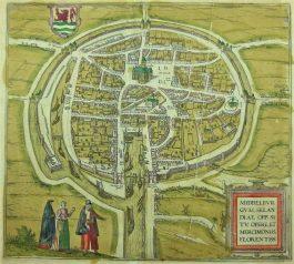 Middelburg; G. Braun & F. Hogenberg – Middelburgum (..) – 1575-1617