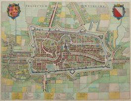 Utrecht; J. Blaeu – Traiectum Wttrecht – 1649