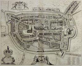 Franeker; J. Blaeu – Franekera. – 1649