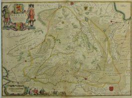 Drenthe – Drentia Comitatus Transiselaniae Tabula II.; J. Janssonius – 1644-1658