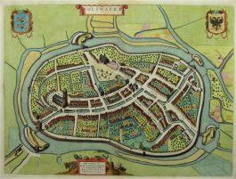 Boslward; J. Blaeu – Bolswaert – 1649