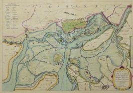 Brabant, Vlaanderen – Tabula Castelli ad Sandflitam (..).; W. & J. Blaeu – 1659-1672