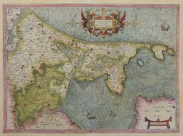 Holland en Utrecht – Hollandt comitatus Vtricht episcop:; G. Mercator & J. Hondius – 1607