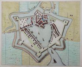 Blokzijl – Block-zyl.; J. Blaeu – 1649